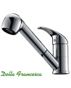 Cosmo Pull Out Kitchen Mixer Tap - with Vegetable Spray