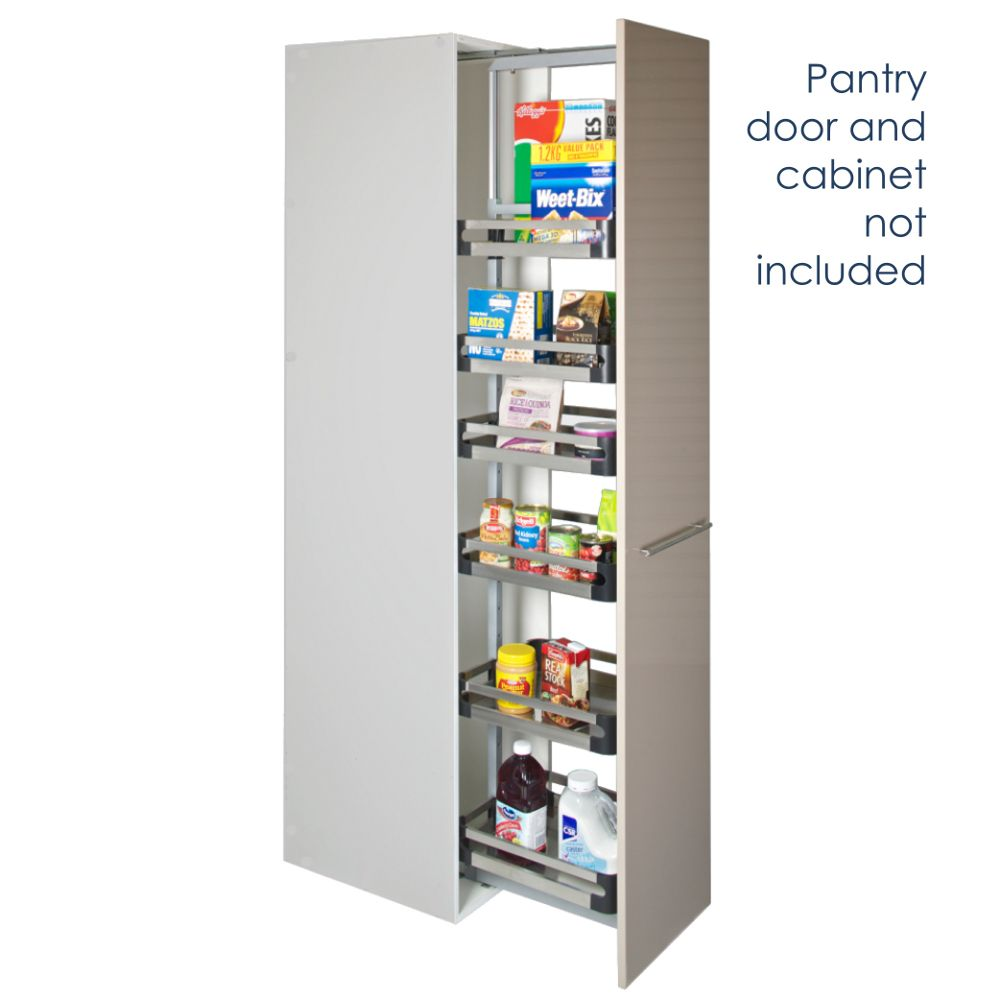 Pull Out Pantry Soft Close Unit Adjustable Height Internal Unit Ebay
