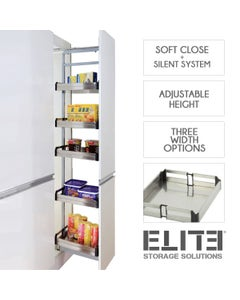 Bistro Pull-out Pantry - Adjustable Height - Internal Unit