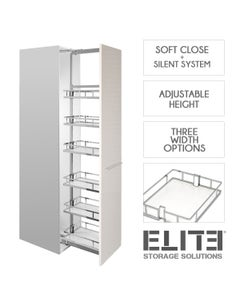 Provedore Pull-out Pantry - Adjustable Height - Internal Unit