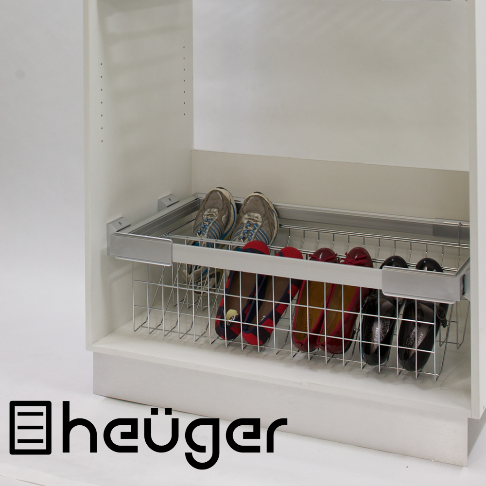 Pull Out Wardrobe Shoe Storage