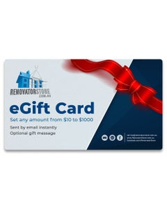 Renovator Store eGift Card - any amount from $10 to $1000