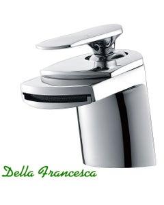 Della Francesca Ribbon Flow Basin Mixer Tap