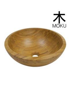 Round Japanese Style Bamboo basin