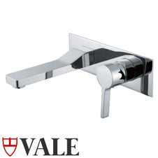 Vale Brighton Wall Mounted Single Lever Mixer and Spout