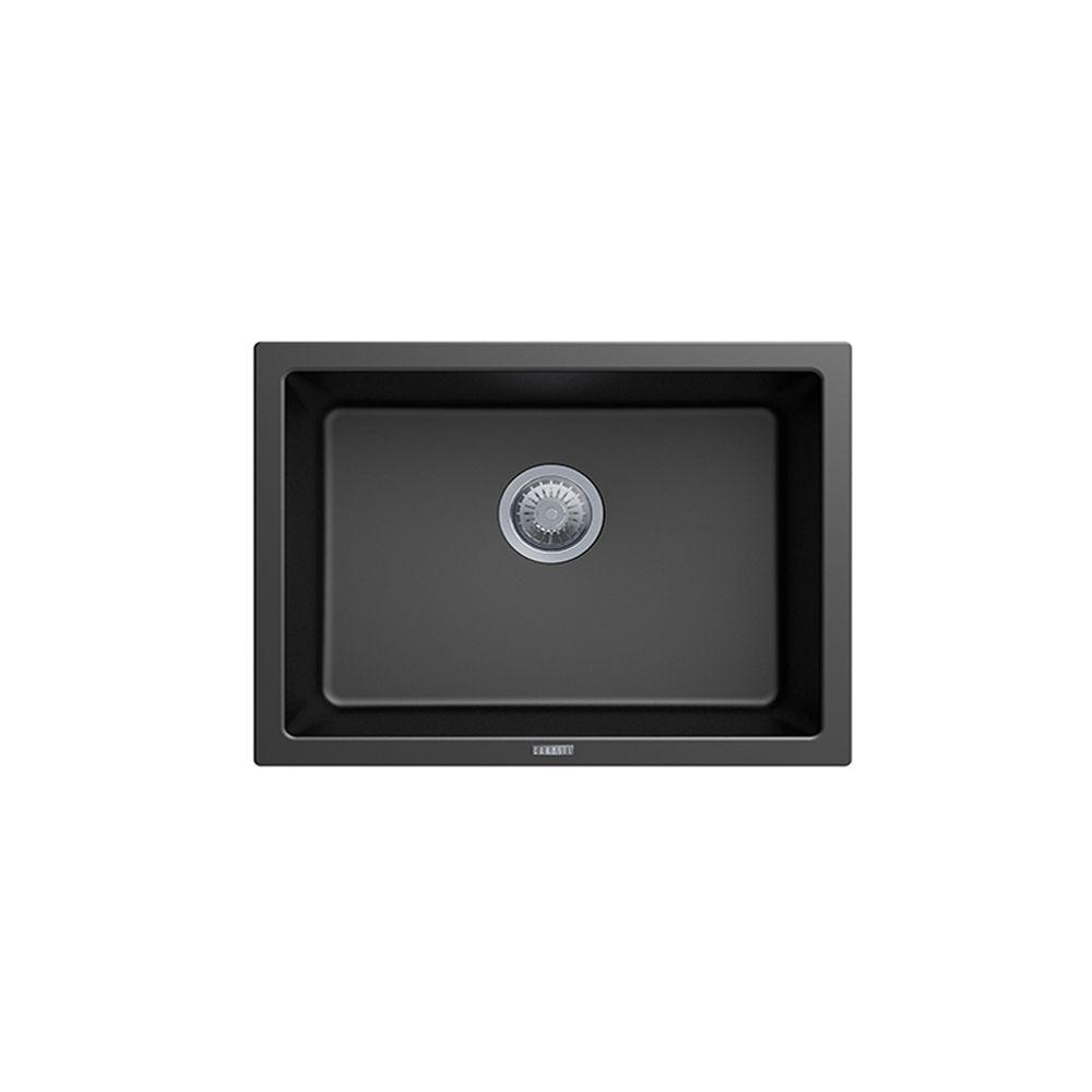 Carysil Big Bowl Granite Kitchen Sink - 610 x 457mm Single Bowl