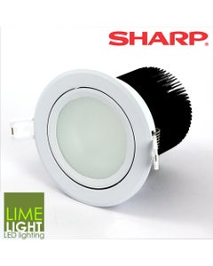 18W White LED Downlight Kit