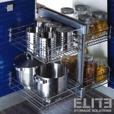 Show Hand Magic Corner II - Pull-Out Kitchen Corner Storage