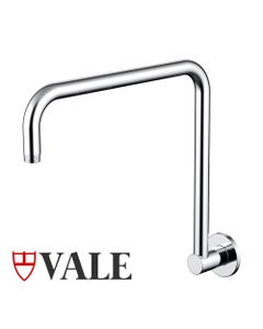 Vale goose neck shower arm - chrome