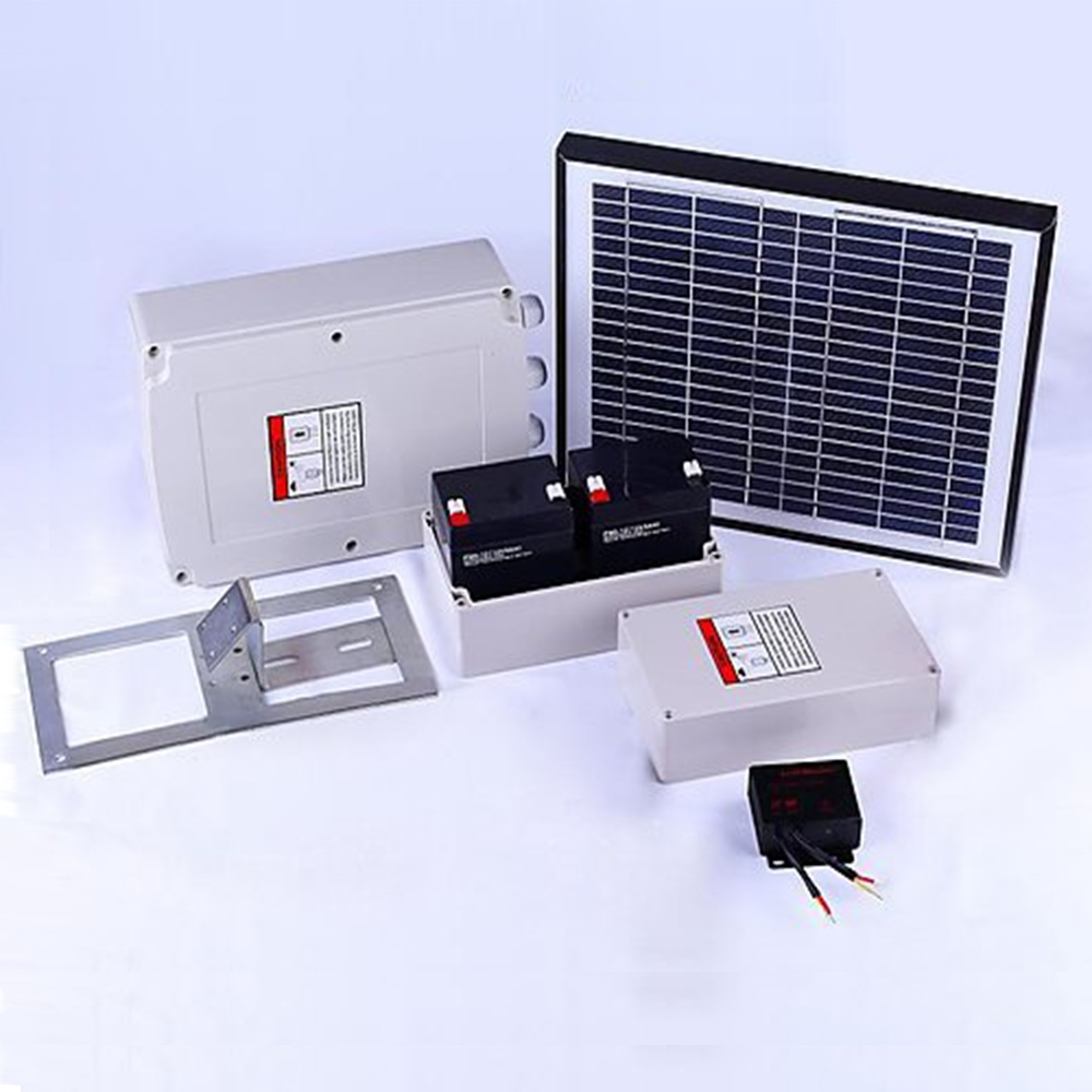 Image of 350KG Single Swing Auto Motor Gate Opener with Solar