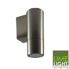 Sorrento Outdoor Wall LED Stainless Steel Down Light