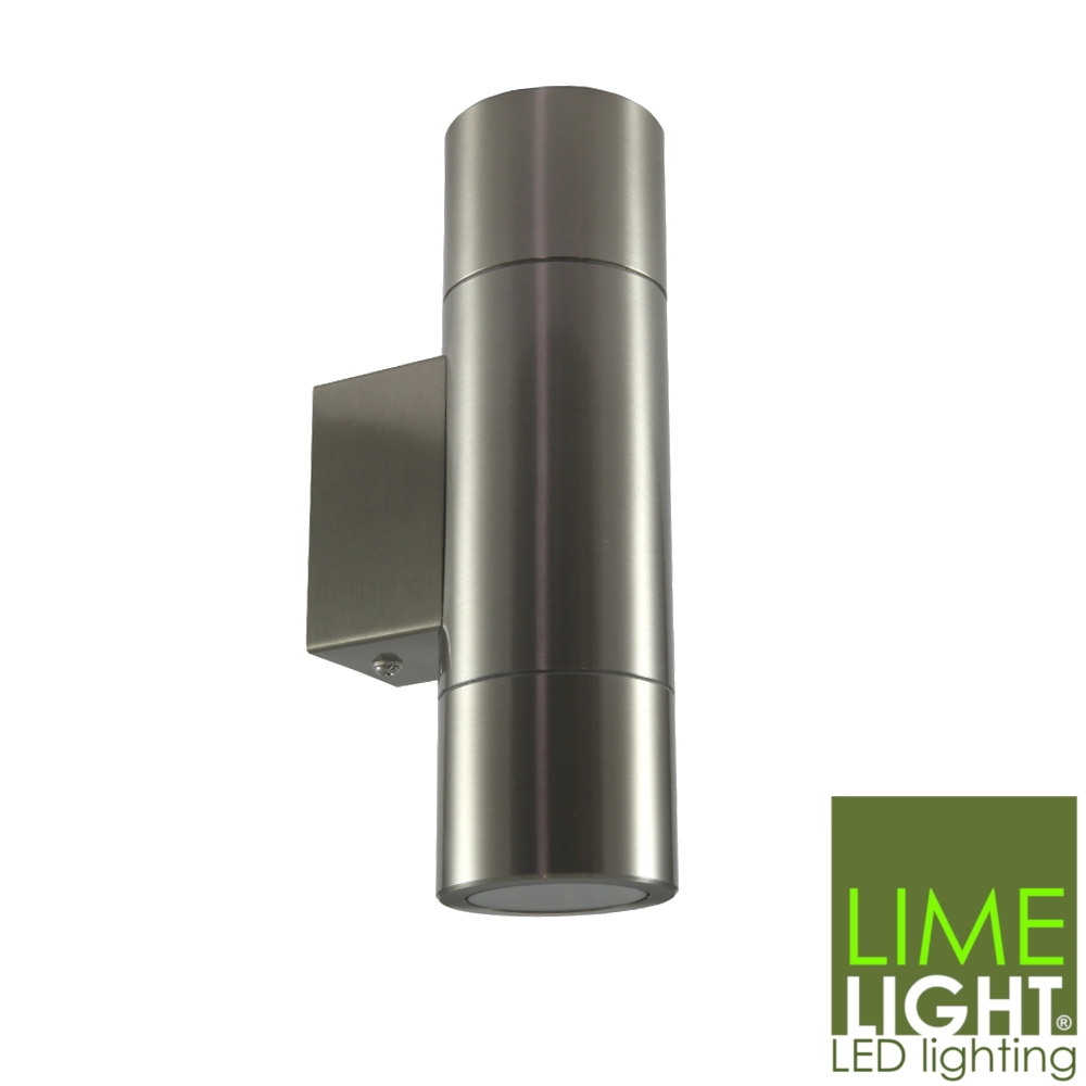 Sorrento Wall Mounted Up and Down Light - 240V LED - 3mm 316 Stainless Steel