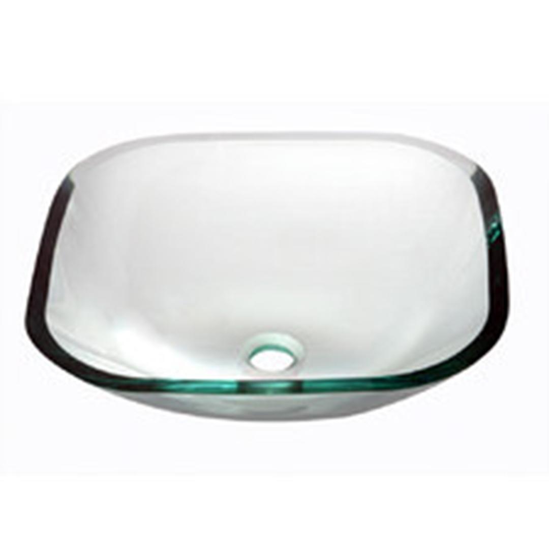 Bathroom Glass Basin - Square