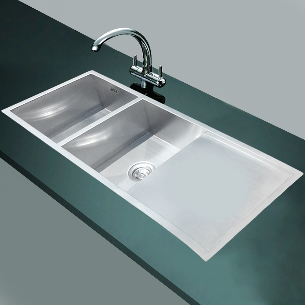 Best stainless kitchen sinks top stainless steel kitchen for Best kitchen faucet for double sink
