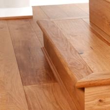 Stair nosing solid oak
