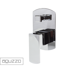 Aguzzo Terrus Shower Mixer with Diverter - Wall Mounted
