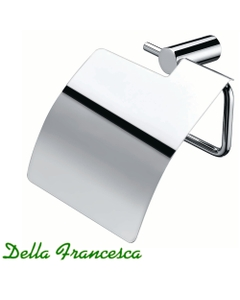 Stella Stainless Steel Toilet Paper Holder - with cover
