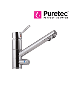 Puretec Tripla - T1 Triple Action Three Way Kitchen Mixer Tap with LED - Single Lever