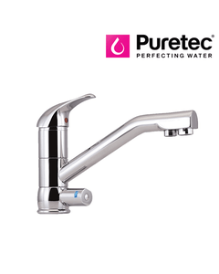 Puretec Tripla - T2 Triple Action Three Way Kitchen Mixer Tap with LED - Single Lever
