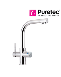 Puretec Tripla - T3 Triple Action Three Way Kitchen Mixer Tap with LED - Dual Handle