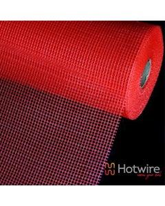 Under Tile Heating Self Adhesive Alkaline Resistant Fibreglass Mesh