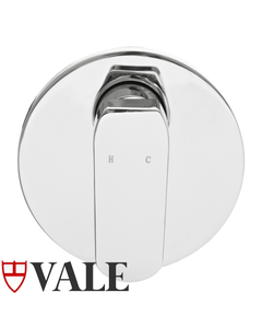Vale Grande Shower Mixer - Wall Mounted