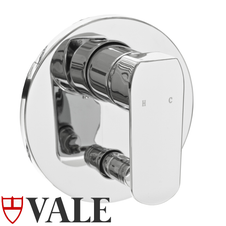 Vale Grande Shower Mixer - Wall Mounted with Diverter
