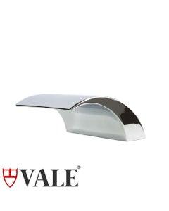 Vale Bath Spout Hob Mounted Chrome Finish