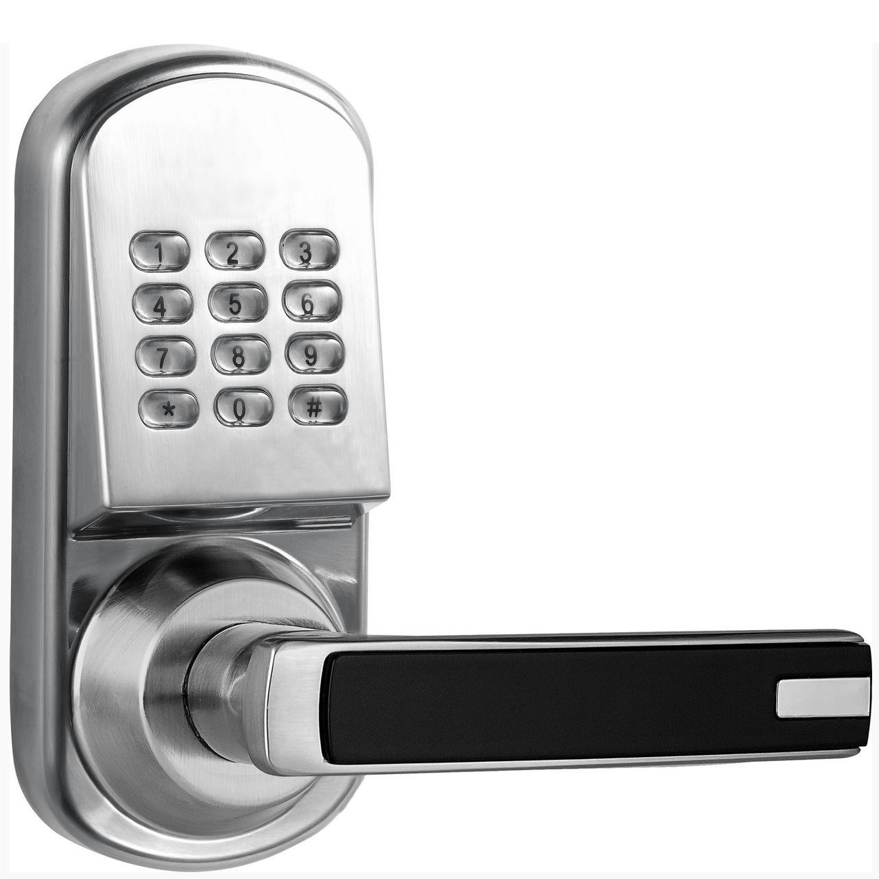 Wireless Z-Wave Door Lock - Illuminated Keypad