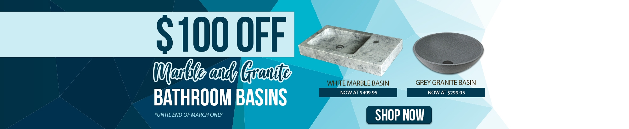 Marble and Granite Basins Sale