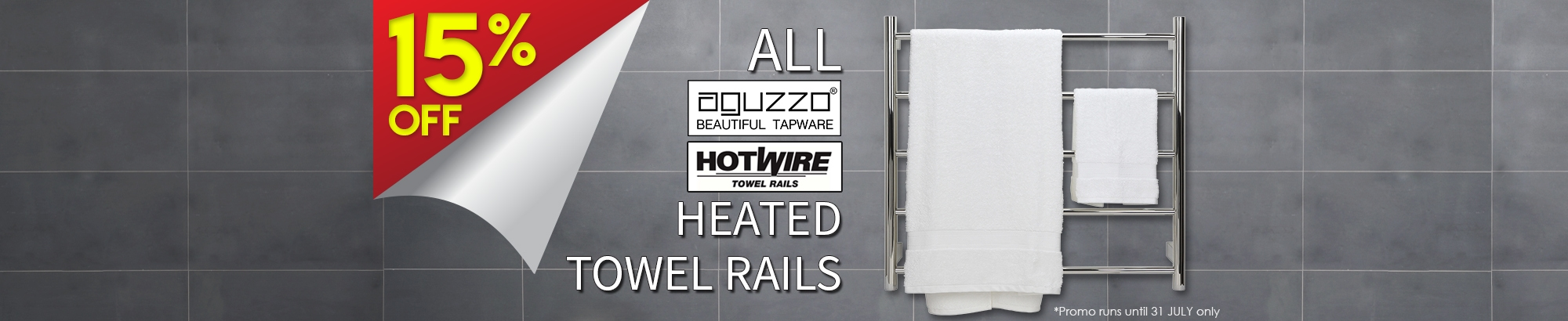 15% OFF Aguzzo and Hotwire HTRs