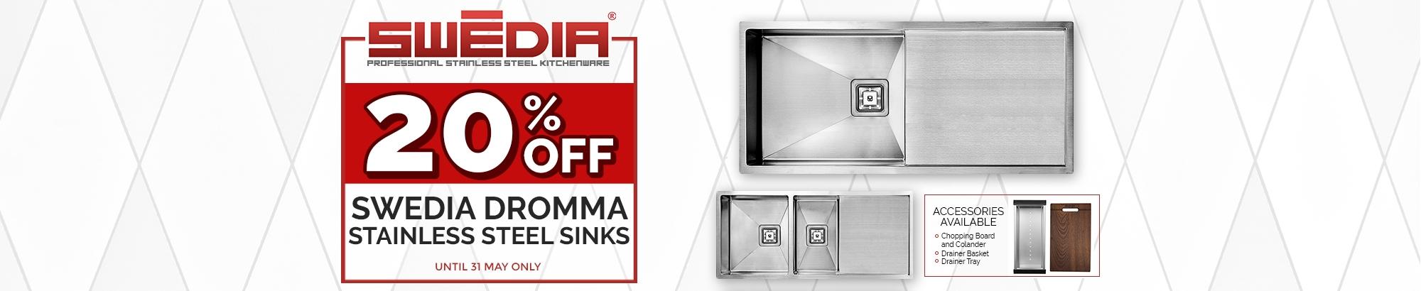 Swedia Dromma Sink Sale - May 2017