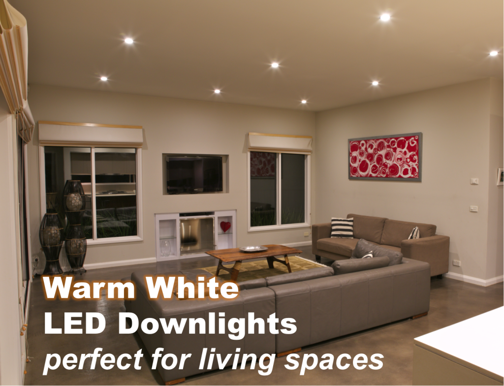Led lights what is the difference between warm white and cool white for Warm white or cool white for living room