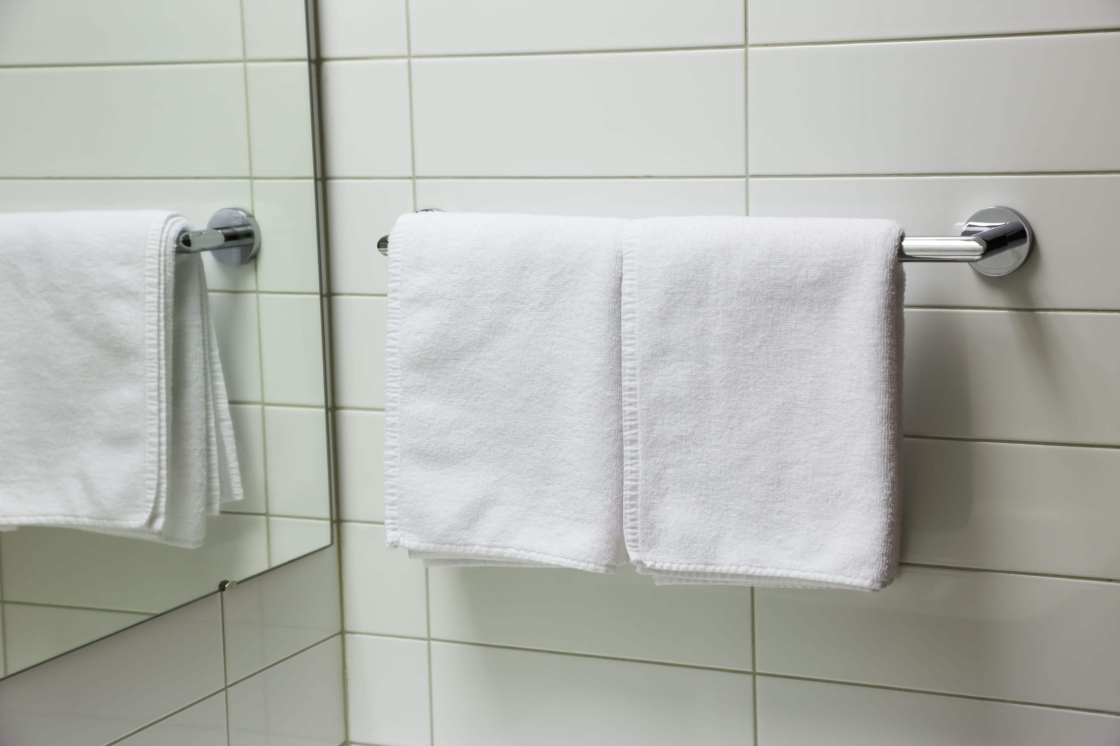 How To Install A Towel Rack On Ceramic Tile