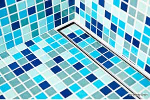 shower grate - tile insert