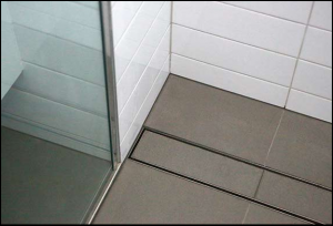 tile insert shower grate