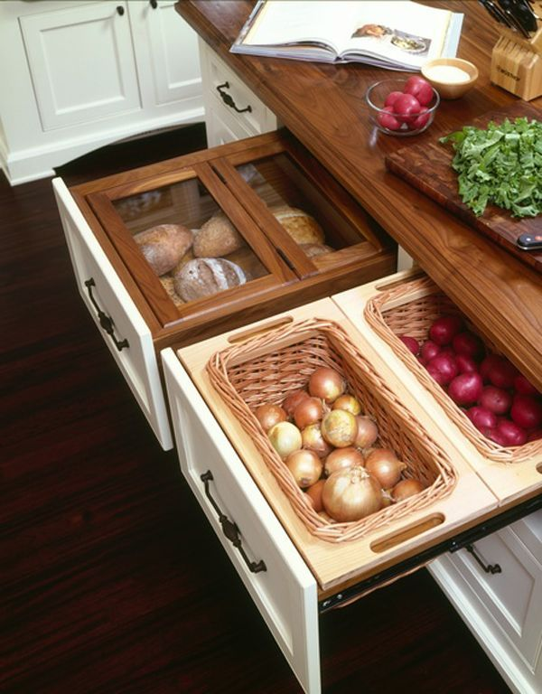 Pull-out-drawer-food-storage
