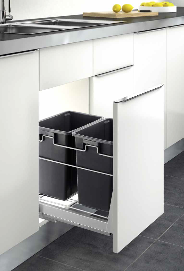 pull-out bin