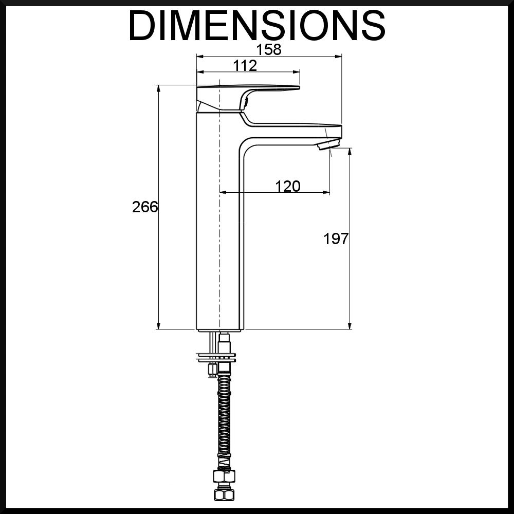harmonie-single-lever-basin-mixer-tall