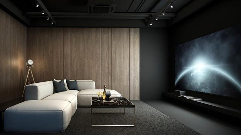 classy home cinema