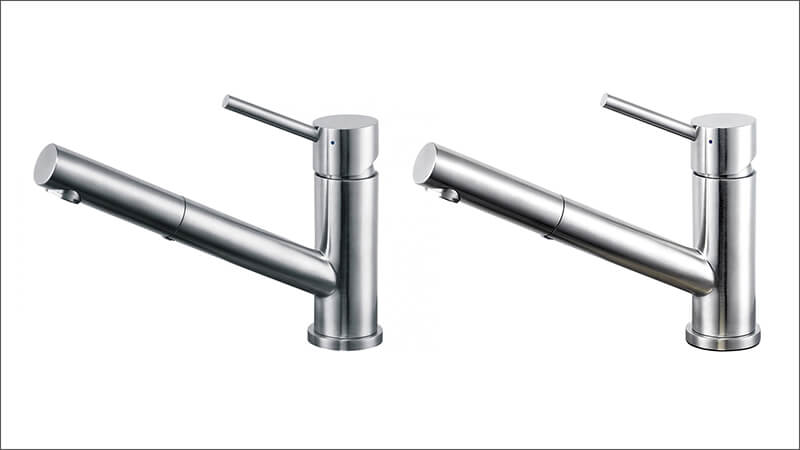 franke kitchen mixer tap with pull out nozzle