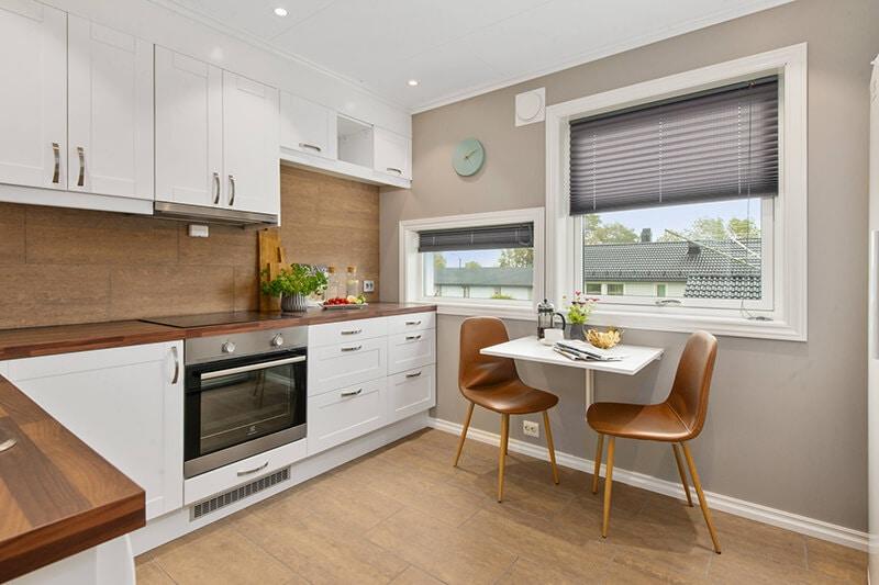 white tiny kitchen