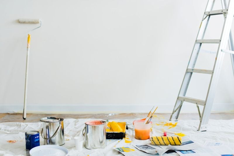 home reno cleanup