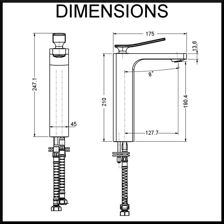 Dimension-diagram-cortina-wall-mixer-renovator-store