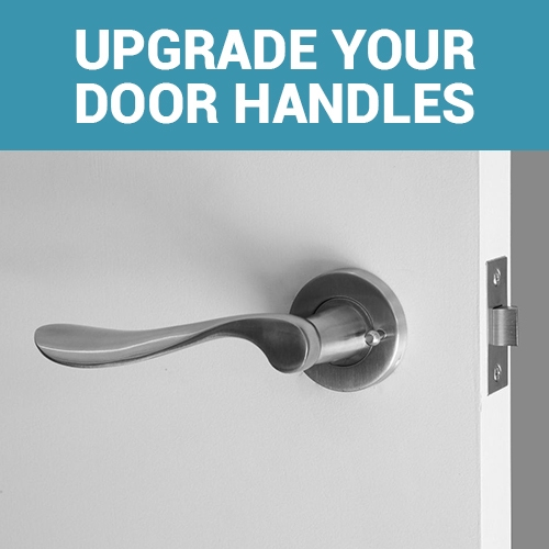 designer lever handles for front doors and entrance doors