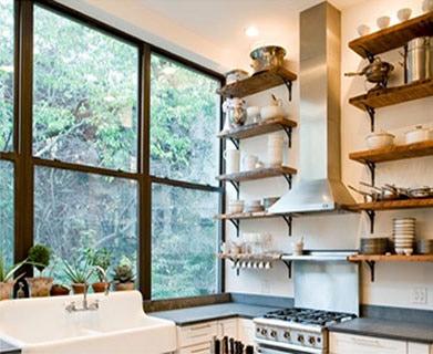 kitchen storage, storage solutions, wall storage
