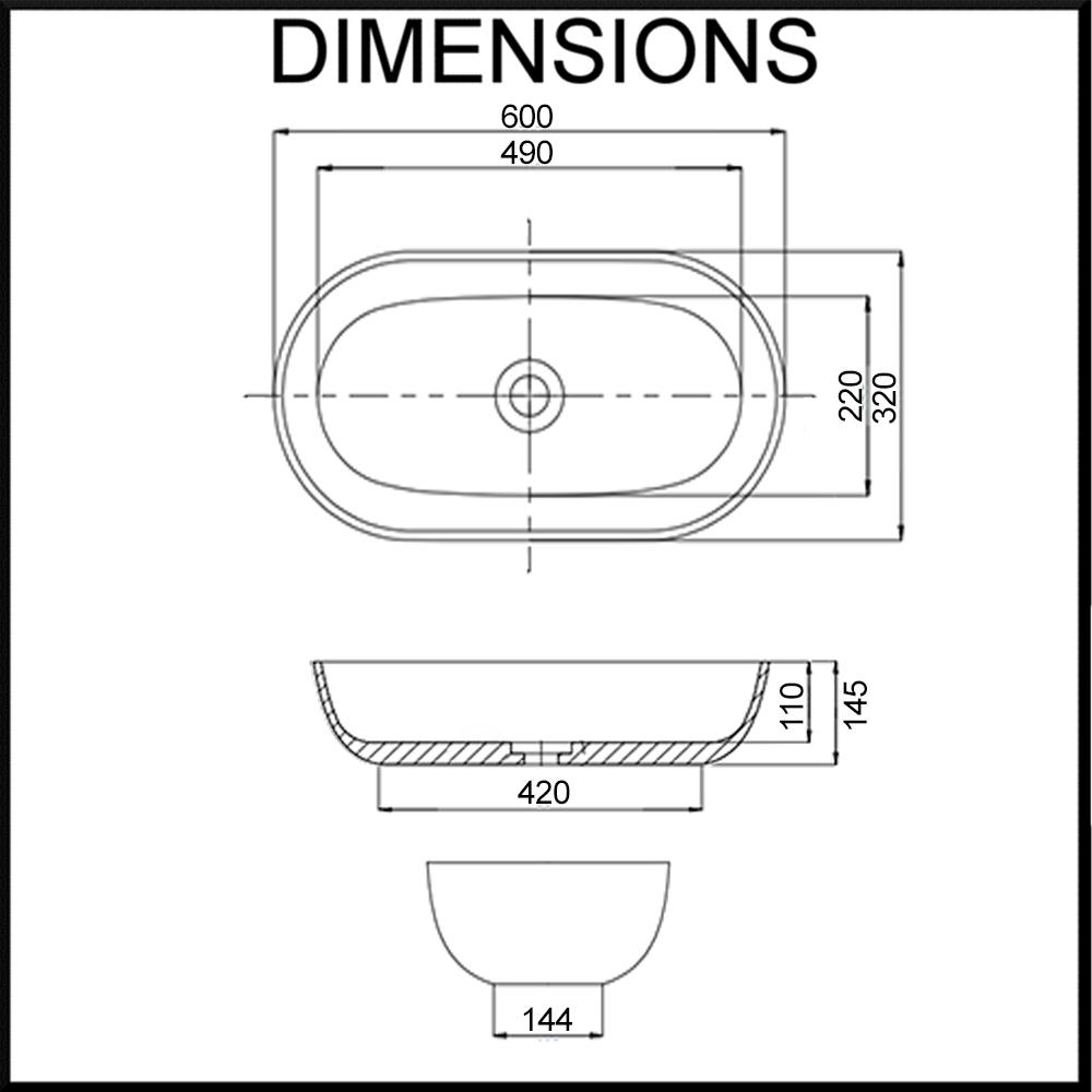 aguzzo siena artstone bathroom basin