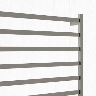 heated towel rail flat tube for bathrooms