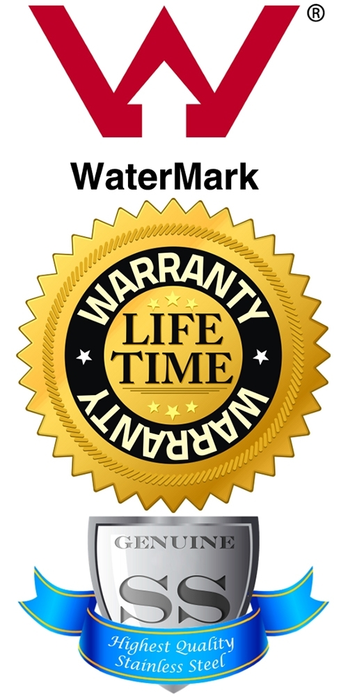 Australian Watermark Certified, Lifetime Warranty, Solid 316 Stainless Steel