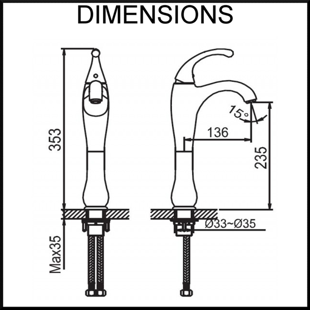 fluid-tall-basin-mixer-dimensions